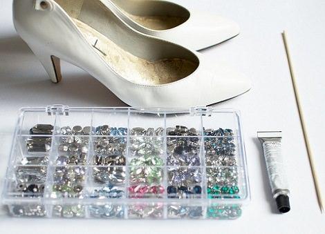 materiales customizar zapatos