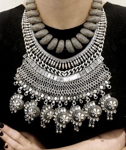 collar de moda diy